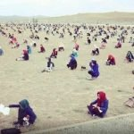 Afghanistan: sotto il sole per il test d'ingresso