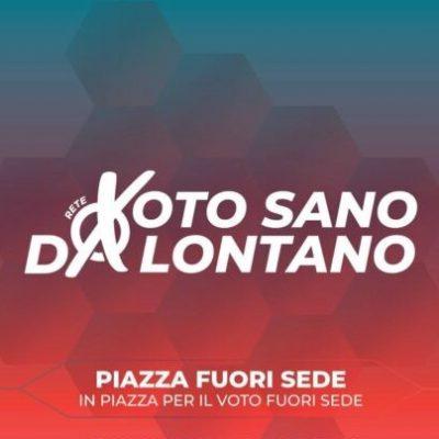 Roma, in piazza per il voto fuorisede